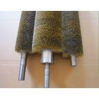 厂家供应尼龙丝毛刷辊 剑麻丝毛刷辊 工业清洗机毛刷辊 加工定制各种毛刷辊