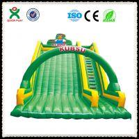 广州厂家供应儿童充气大滑梯 大型户外儿童充气滑滑梯