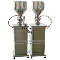 供应广州泽维尔半自动膏体灌装机 立式(ZWLLGS-005)