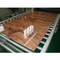 PVC石塑装饰板生产线-微晶石板挤出机生产设备-13923228951