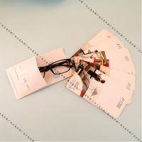 高档眼镜片包装纸袋/镜片店专用广告镜片袋-正茂-1