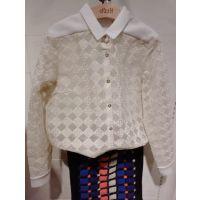现货 2014冬季新款女衬衫白色镂空蕾丝百搭衬衫打底衫 344C428