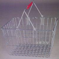 广州浏雅货架厂家生产超市购物篮 低价出售