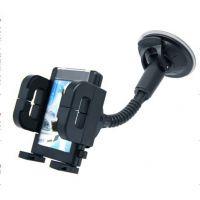供应车用手机架 可旋转手机架 带吸盘式车用手机架 GPS导航手机架