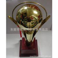 高档金色拱珠形金属奖杯