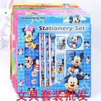 迪士尼文具套装礼盒小学生儿童韩国男女孩生日礼物学习用品奖品