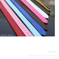韩版蛇纹皮革手链 DIY英文字母穿带手带 手表链【10MM蛇纹手带】