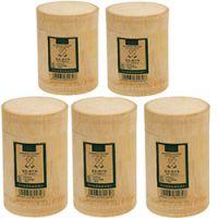 巨匠厂家定制西式环保外贸精品天然竹子围巾包装筒
