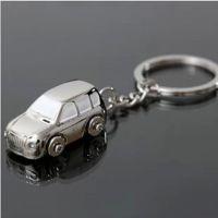 JEEP小汽车钥匙扣 男士创意礼品挂件背面可印制LOGO  金属钥匙扣