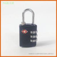 正品TSA007海关锁 美国海关TSA认可行李锁箱包 3位码数字密码锁