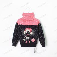 catimi* 冬款 娃娃头 高领女童羊毛打底衫 儿童毛衣   批发