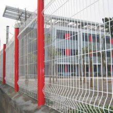 小区围墙网、庭院钢网墙、1.8*3米围墙铁栅栏