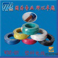 供应WDZ-BY0.75~300平方 江南电线电缆 单股 国标铜芯 裸电线