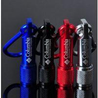 批发创意登山扣LED小手电 迷你强光电筒 钥匙扣包包挂件家居日用