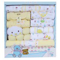春夏秋纯棉婴儿礼盒新生儿礼盒宝宝服装礼盒婴儿用品内衣礼盒