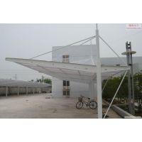 生产销售 简易钢结构电动车雨棚 三轮车雨棚