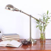 北欧复古做旧美克美家式台灯学习工作护眼灯长臂书房办公卧室灯具