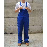 直销广州工装裤定制涤棉吊带工装 背带裤工作服吊带工装定做