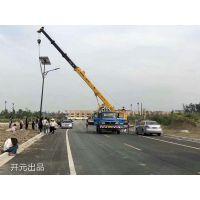 扬州高邮太阳能路灯厂家高光效安装效果