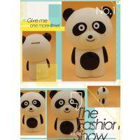 熊猫存钱罐创意礼品  搪胶储蓄罐 义乌搪胶工厂 创意礼品