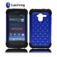 中兴手机壳 镶钻手机保护套 zte Avid 4G n912手机套 pc点钻