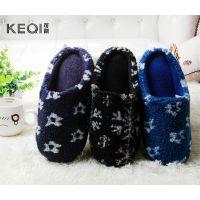 冬季新款 韩版羊羔绒女士防滑保暖拖鞋 室内家居女款棉拖鞋