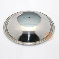 聚佳特供不锈钢钢盖 无磁炒锅盖 可视组合盖