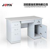 厂家直销钢制电脑桌 电脑台 办公桌办公电脑桌 电脑台 左三斗右柜
