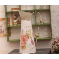 特价促销 迷你贴纸铁艺洒花器LP12011B