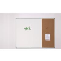 供应新迪木框组合白板软木板记事板留言板创意挂式展示板图钉板60*90cm
