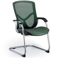 供应时尚弓形职员椅/网布办公椅/多色职员办公椅/电脑椅/休闲椅