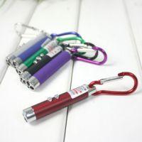 照明灯LED手电筒激光灯红外线三合一 多功能按钮2064其他LED灯具