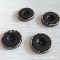 专业供应电镀纽扣,塑料电镀纽扣、电镀双拼纽扣、树脂组合电镀扣