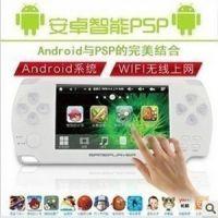 新款安卓智能游戏机 4.3寸高清触摸PMP PSP+WI-FI 厂家直销