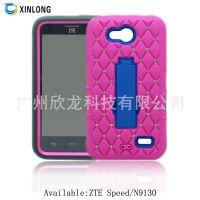 2015厂家直销 ZTE Speed N9130 满天星点钻支架 三合一 手机壳
