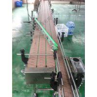 多列链板输送机—多排链板饮料输送设备—饮料瓶子输送机—郑州水生机械