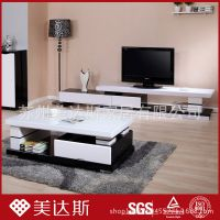 厂家直销简约现代电视柜 简易电视柜 客厅电视柜钢化玻璃