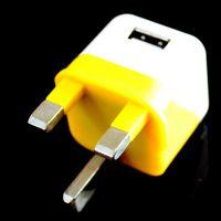 凡迅手机充电器 英规三角充电器 单USB接口 迷你充电头 厂家批发