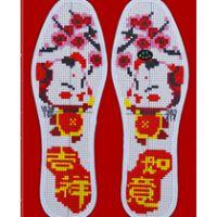 手工鞋垫图案花样鞋垫花样图纸大全