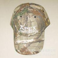 供应新款美国出口仿生迷彩棒球帽 男士帽子户外狩猎士兵专用帽子
