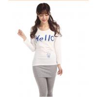 供应2014秋季女装圆领纯棉t恤长袖修身上衣显瘦打底衫厂家直销