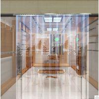 天津透明塑料折叠推拉PVC软门帘厂家