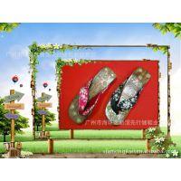 自产自销全球时尚木屐女士人字拖按摩木拖鞋夏季家居凉拖鞋