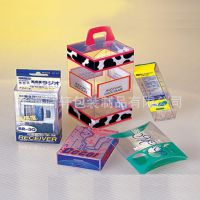 J14供应透明香皂PET盒子 透明卷边圆桶PET盒子 手机套包装PET盒子