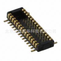 JAE矩形板对板连接阵列边缘型夹层式插头带触点WP3-P024VA1-R500