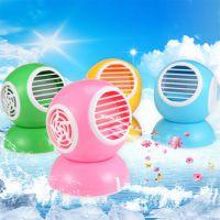 批发 香味空调扇USB无叶风扇迷你小风扇 可制冷 送香包 一件代发