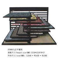 供应平躺瓷砖展示架 木地板展架 陶瓷展架 马赛克展柜 木门展架 铝扣板展架 墙纸展架