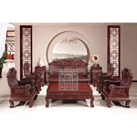 红木沙发-红木家具-锦绣中华沙发-红酸枝沙发-成套红木家具