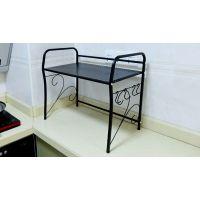 材料加厚美式铁艺微波炉架 烤箱架 厨房置物架 厨房用具隔板架