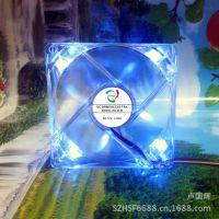 供应cpu风扇,9225透明蓝光led风扇 机箱风扇 显卡散热片风扇可使用